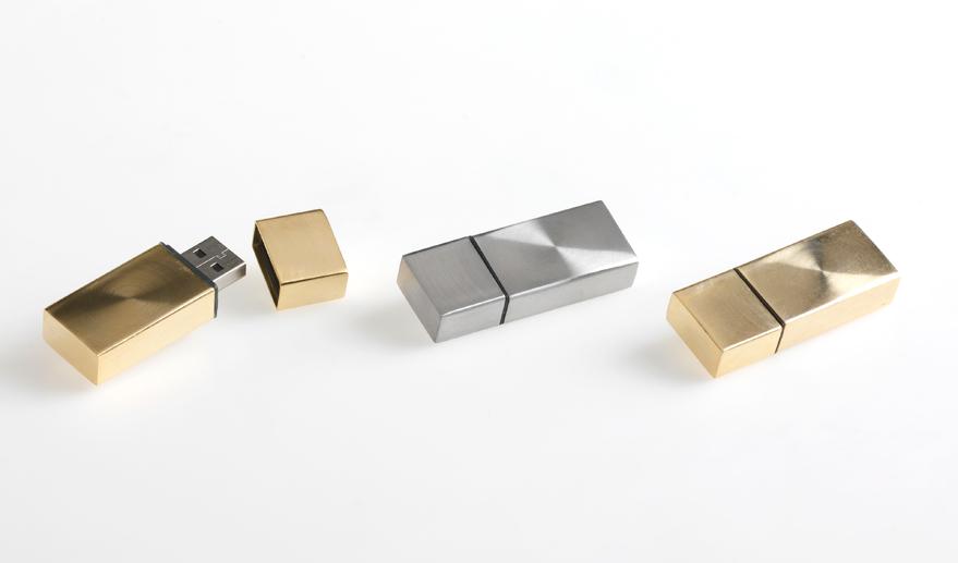 USB Vortex zilver en goud