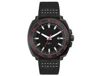 Canberra herenhorloge zwart-rood