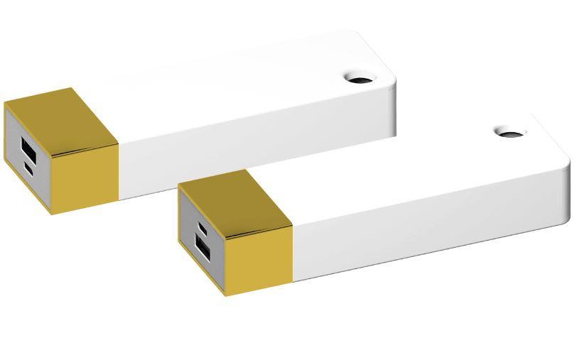Powerbank Belt 4400 goud-wit