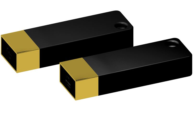 Powerbank Belt 4400 goud-zwart