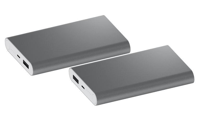 Powerbank Chunck 8000 zilver