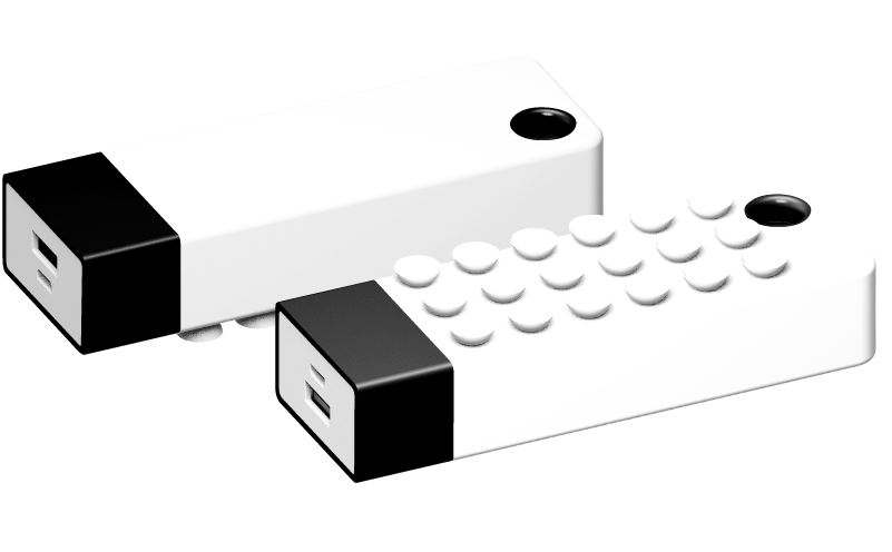 Powerbank Grip 4400 wit-zwart