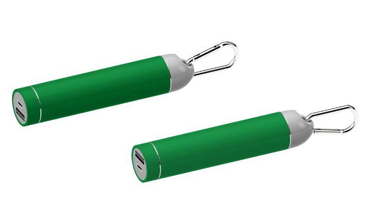 Powerbank Roller groen