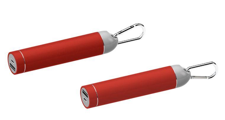 Powerbank Roller rood