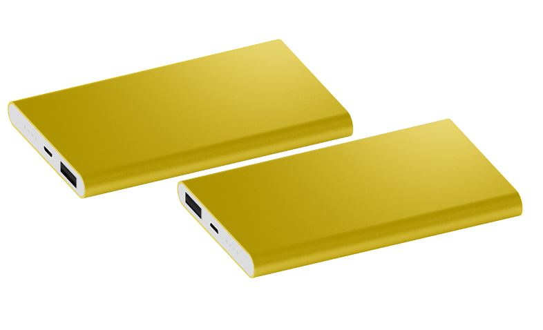 Powerbank Sharp 4000 goud