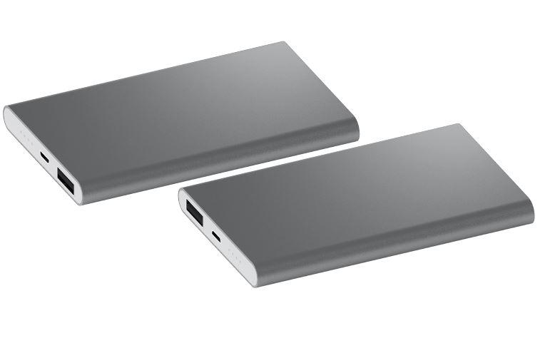 Powerbank Sharp 4000 zilver