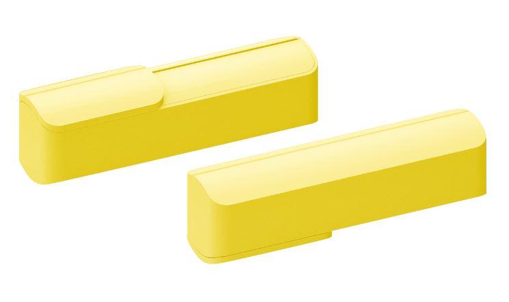 Powerbank Slide geel