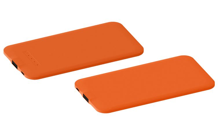 Powerbank Thin oranje