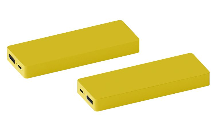 Powerbank Tile 3000 geel