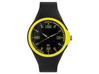 Spike herenhorloge zwart-geel