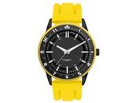 Surfer herenhorloge geel-zwart