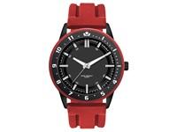 Surfer herenhorloge rood-zwart