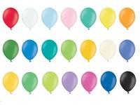Bedrukte latex ballonnen rond (80cm)