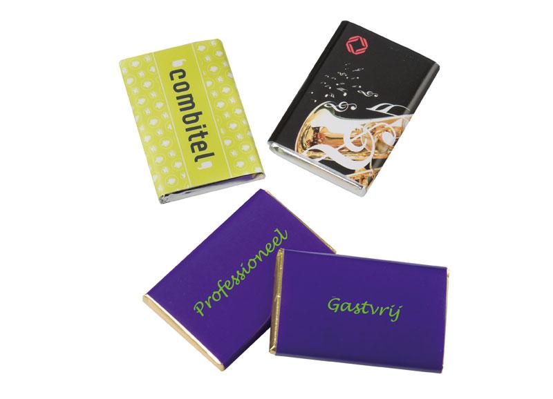 Chocolade kaartjes