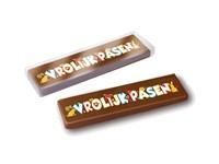 Chocolade cadeaureep Met gepersonaliseerde sleeve