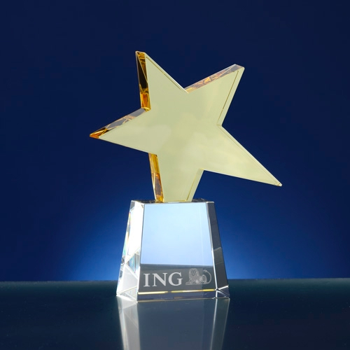 Award 4-hoekig ; thema ster