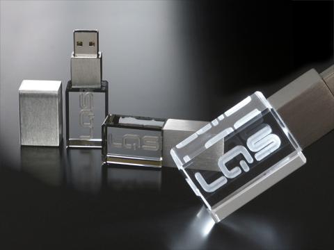 Kristallen USB stick