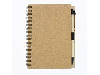 CORKY - Spiraal notitieboekje - A6
