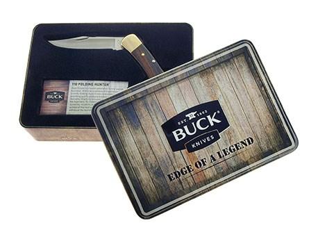 Buck Folding Hunter Limited Tin Giftbox