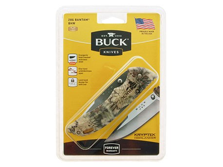 Buck Bantam BHW Kryptek Highlander Clampack