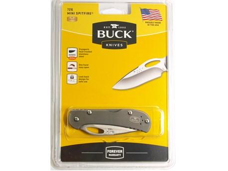 Buck Mini Spitfire Gray PE Clampack