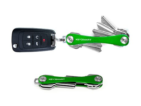 KeySmart Compact Keyholder Green Poly