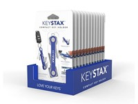 KeySmart KeyStax Compact Keyholder Display Clam