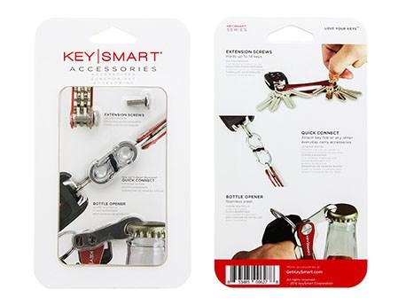 KeySmart Accessory Pack Clam