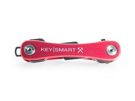 KeySmart Keyholder Red Rugged Poly
