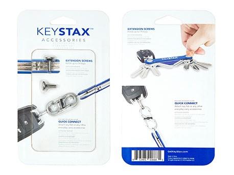 KeySmart KeyStax Accessory Pack Clam