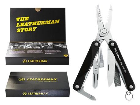Leatherman Squirt ES4 Black Giftbox