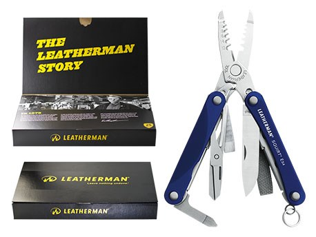 Leatherman Squirt ES4 Blue Giftbox
