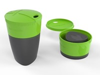 LMF Pack-up-Cup Green