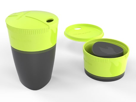 LMF Pack-up-Cup Lime Green