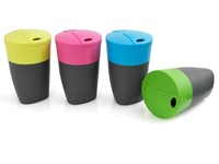 LMF Pack-up-Cup 4 pack Lime/Fuchsia/Cyan Blue/Green