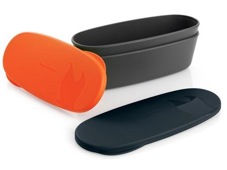 LMF SnapBox Oval Orange/Black