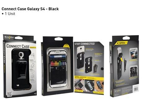 Nite Ize Connect Case Samsung Galaxy S4 Zwart