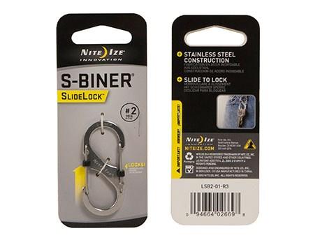 Nite Ize S-Biner #2 Slidelock Stainless