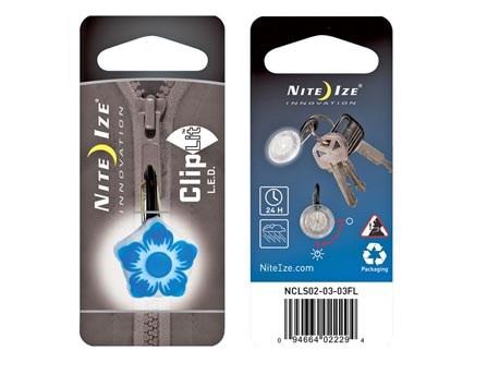 Nite Ize ClipLit LED Blue Flower