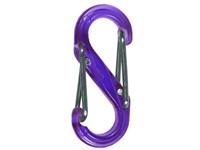 Nite Ize S-Biner Plastic #4 Purple Translucent
