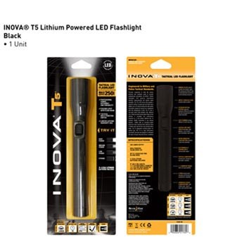 Inova T5 Flashlight 456 Lumen