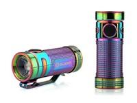 Olight SMINI Baton Limited edition Titanium Rainbow