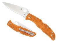 Spyderco Endura4 Burnt Orange HAP40 PE