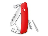 Swiza D03 Zwitsers zakmes Red