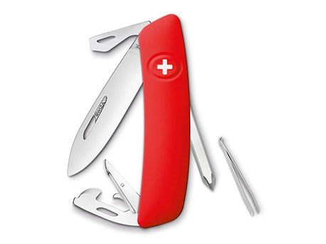 Swiza D04 Zwitsers zakmes Red