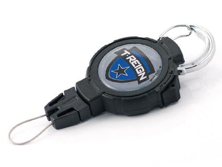 T-Reign Retractable Gear Tether Large carabiner