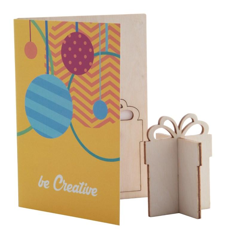 CreaX - Kerstkaart, geschenkdoos
