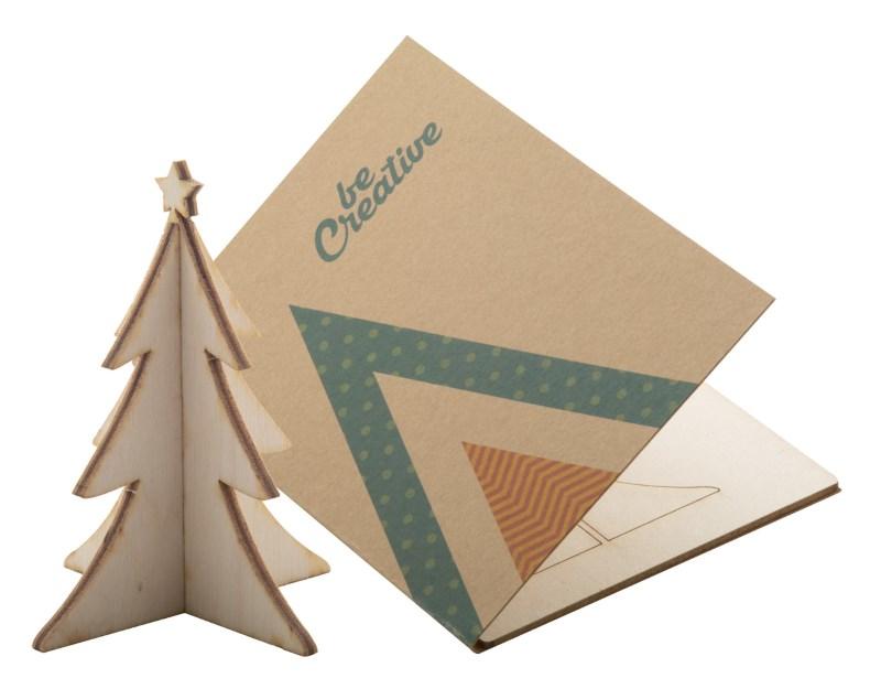 Creax Eco - Kerstkaart, kerstboom