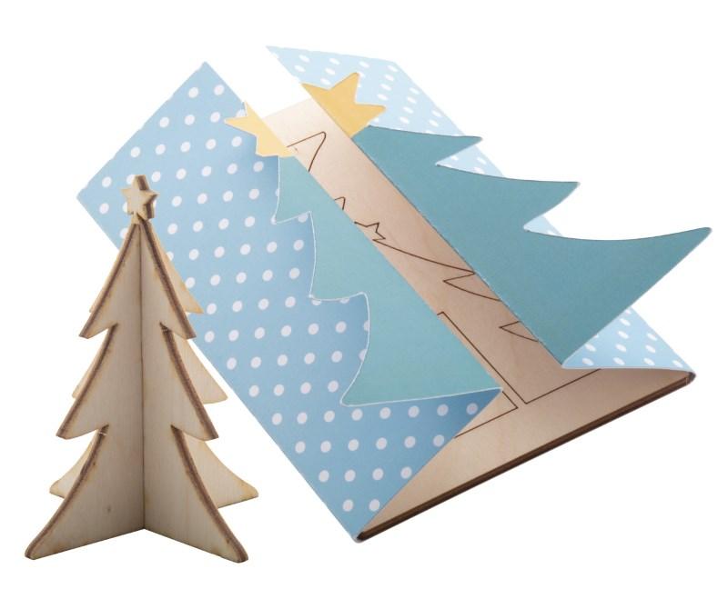 Creax Plus - Kerstkaart, kerstboom