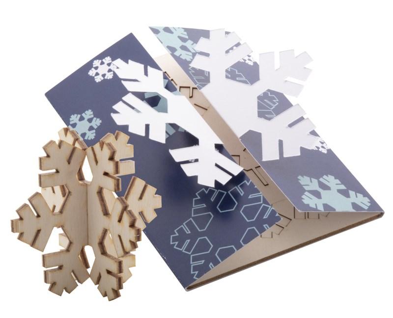 Creax Plus - Kerstkaart, sneeuwvlok